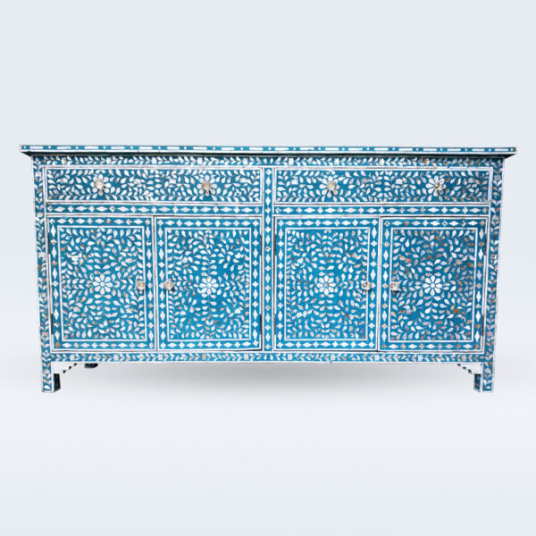 mother of pearl inlay cabinet