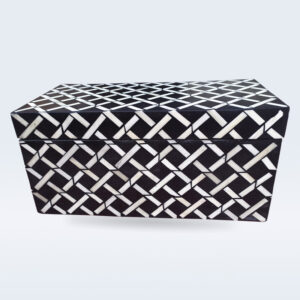 Bone inlay decorative box
