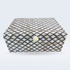Mop inlay jewelry box