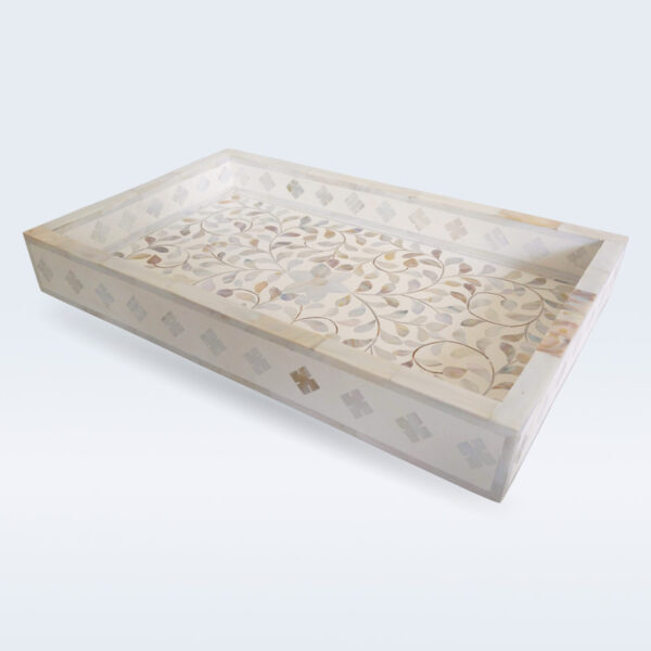 Mop inlay serving tray