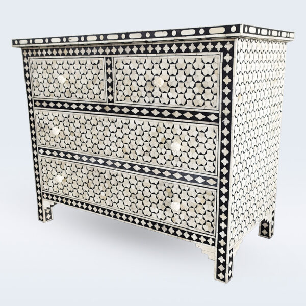 bone inlay targua drawer