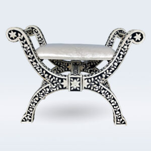 bone inlay dressing stool