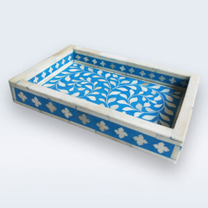 bone inlay kitchen small tray