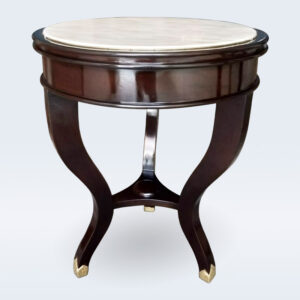 wooden bone inlay wallnut stool